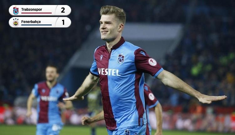 İlk maç Trabzon'un! (Trabzonspor 2-1 Fenerbahçe maç özeti izle)