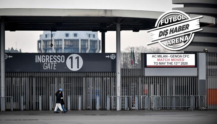 İtalya'da CoronaVirüs kararı! Serie A iptal! Ulusal karantina!