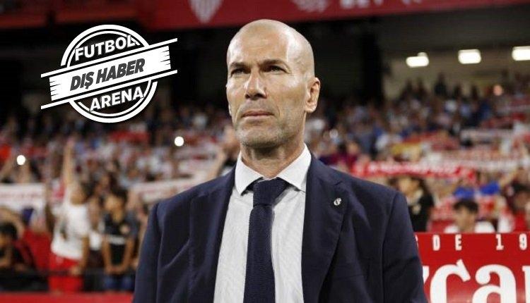 Juventus'tan sezon sonu Zidane operasyonu