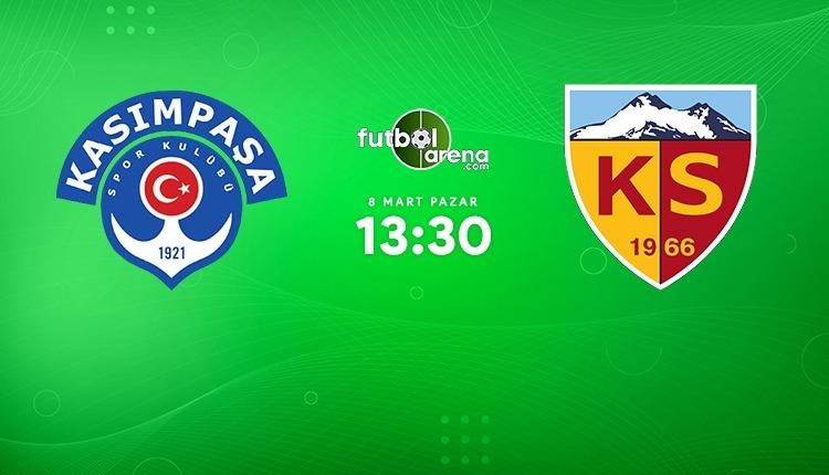 Kasımpaşa - Kayserispor canlı izle (Kasımpaşa - Kayserispor beIN Sports 1 şifresiz maç İZLE)