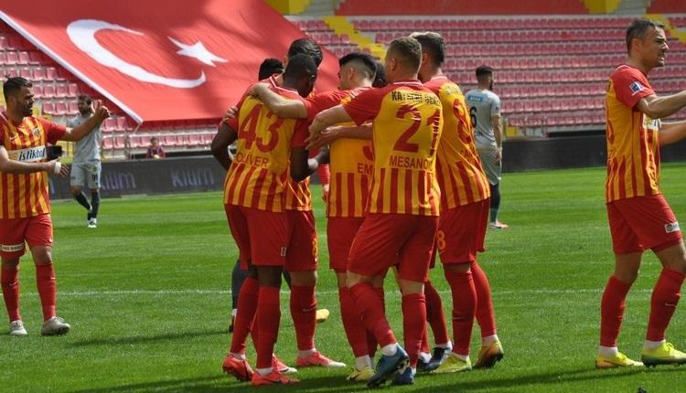 Kayserispor 2-1 Malatyaspor maç özeti ve golleri İZLE