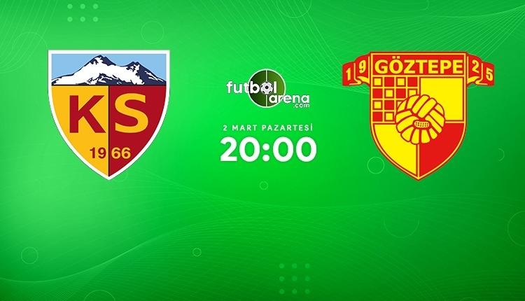 Kayserispor - Göztepe canlı izle (Kayseri Göztepe beIN Sports 2 şifresiz maç İZLE)