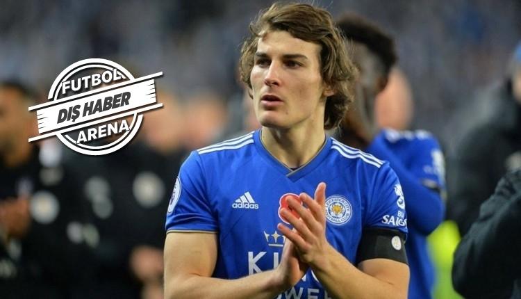 Leicester City'den Çağlar'a yeni sözleşme