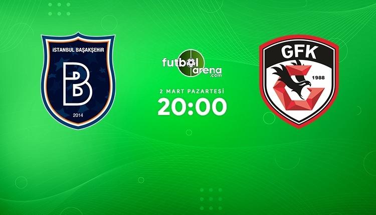Medipol Başakşehir - Gaziantep FK canlı izle (Başakşehir Gaziantep beIN Sports 1 şifresiz maç İZLE)