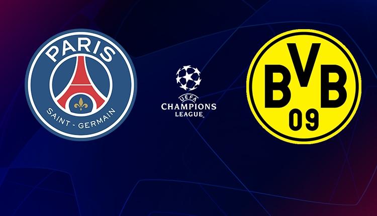 PSG - Borussia Dortmund maçı canlı ve şifresiz izle (Şampiyonlar Ligi Bein Sports 1 canlı İZLE)