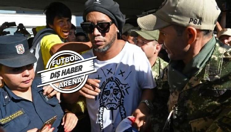 Ronaldinho göz altına alındı! Sahte pasaport