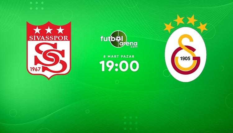 Sivasspor-Galatasaray canlı izle, Sivasspor-Galatasaray şifresiz izle (Sivasspor-Galatasaray beIN Sports canlı ve şifresiz İZLE)