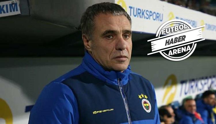 Fenerbahçe'de Ersun Yanal ile yollar ayrıldı
