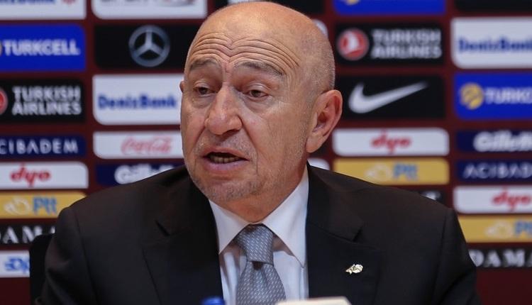 Süper Lig tescil edilecek mi? TFF Başkanı Nihat Özdemir açıkladı