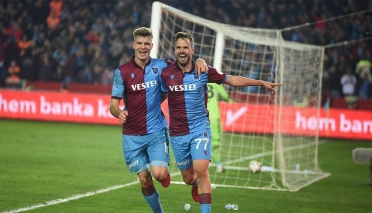 Trabzonspor'da Novak, Fenerbahçe'yi boş geçmiyor