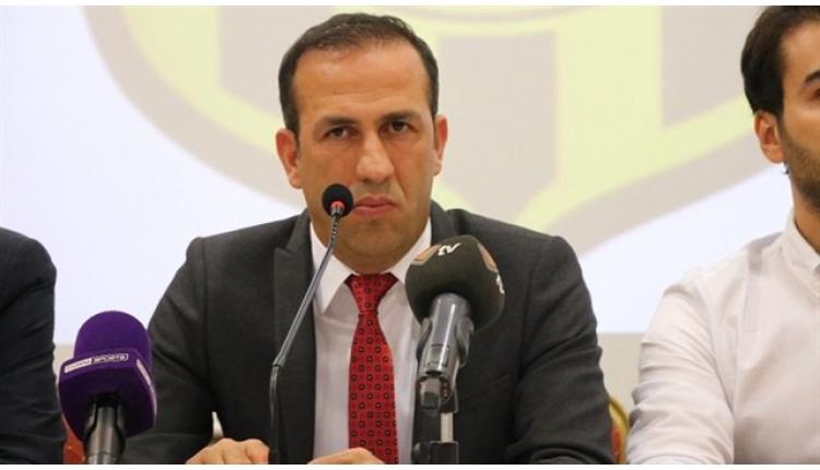 Yeni Malatyaspor Başkanı Adil Gevrek taraftarlarla kavga etti (İZLE)