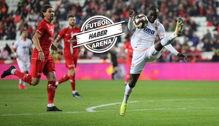 Zafer uzatmada geldi! (Antalyaspor 0-1 Alanyaspor maç özeti izle)