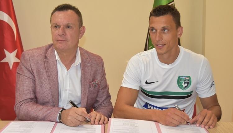 Denizlispor'dan tepki! Kaleci Adam Stackhowiak sözleşmesini feshetti