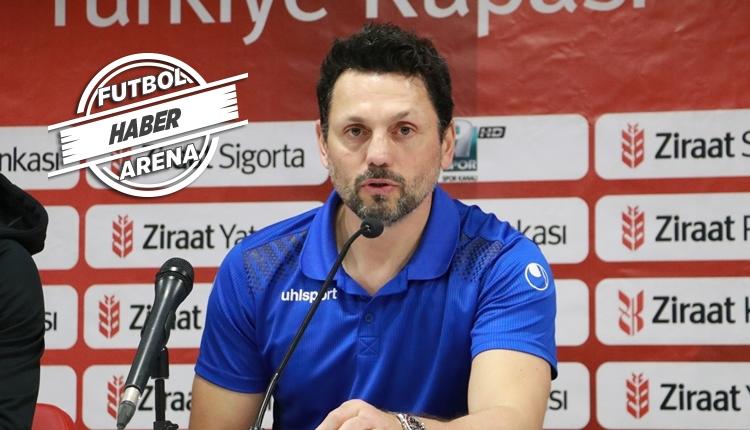 Erol Bulut'tan Fenerbahçe cevabı: 'Kendime güveniyorum'