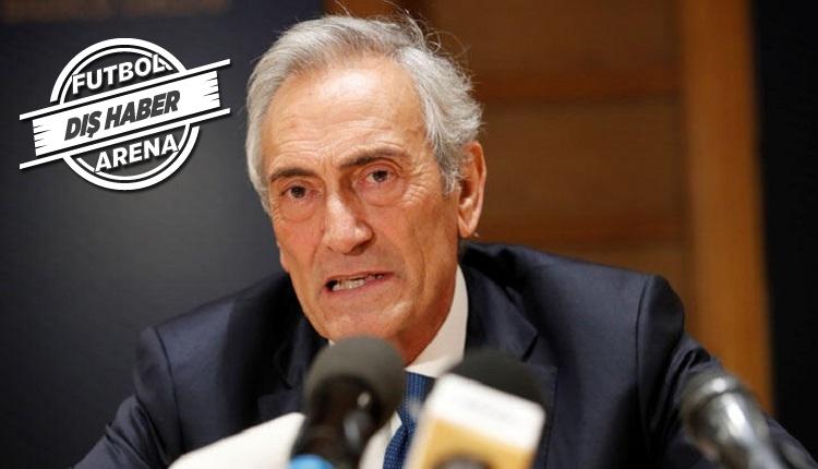 İtalya Futbol Federasyonu: 'Ligi iptal edersek ölüm olur!