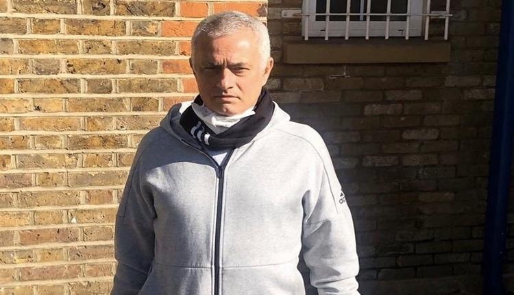 Mourinho karantinayı ihlal etti! Parkta idman