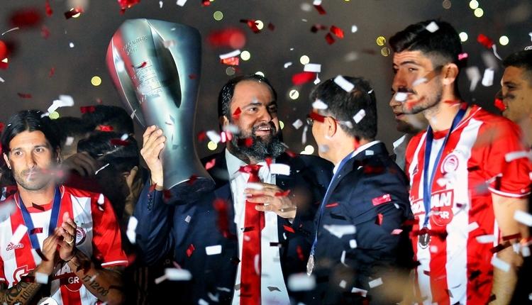 Olympiakos için küme düşme tehlikesi! Bahis suçlaması