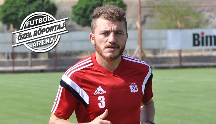 Sivasspor kaptanı Ziya Erdal, FutbolArena'ya konuştu