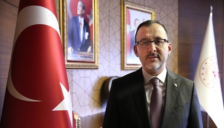 Spor Bakanı Kasapoğlu'dan Fenerbahçe'ye övgüler