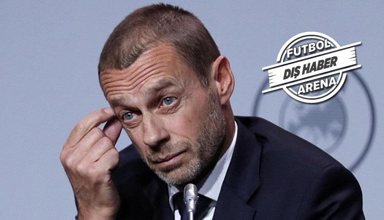 UEFA Başkanı konuştu! 'Seyircisiz maçlar'