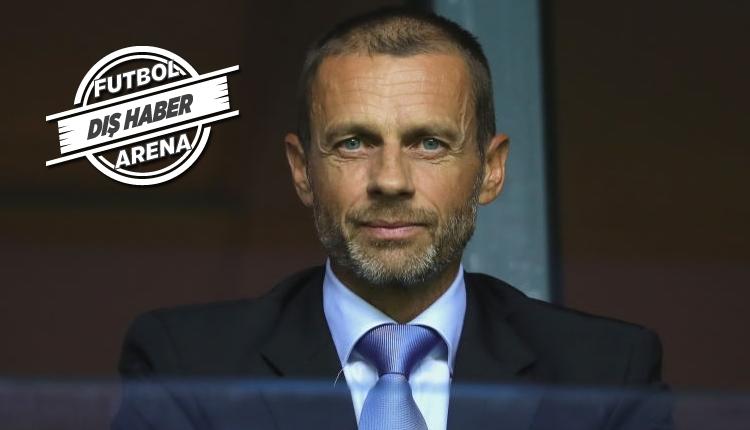 UEFA'dan Şampiyonlar Ligi ve Avrupa Ligi açıklaması