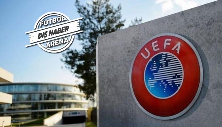 UEFA'dan yeni açıklama: