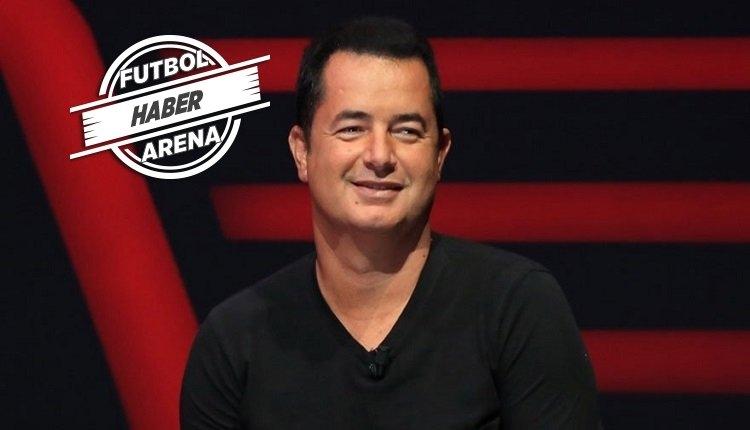 Acun Ilıcalı'dan canlı yayında Fenerbahçe açıklaması