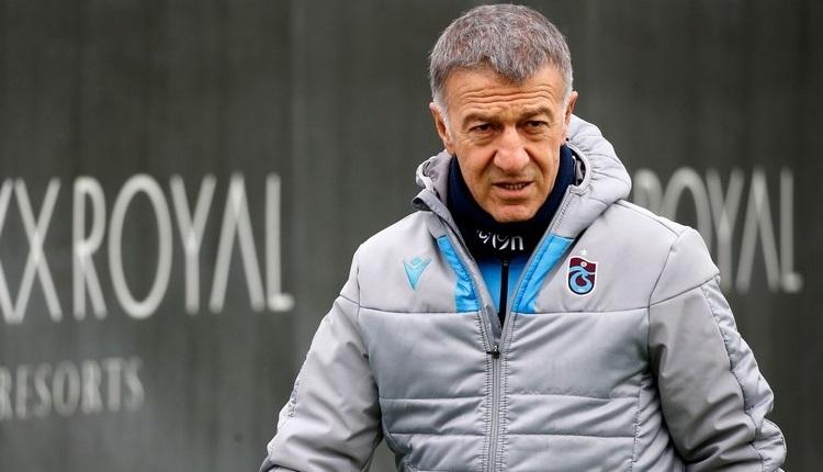 Ahmet Ağaoğlu'ndan açıklama! 'Trabzonspor'un tavrı nettir'