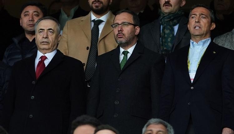 Ali Koç'tan Mustafa Cengiz'e ziyaret: 'Çok teşekkür ediyoruz'