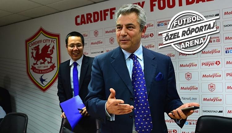 Cardiff City başkanı Mehmet Dalman, FutbolArena'ya konuştu