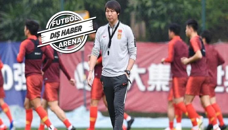 Çin Milli takımı sahaya indi! Kulüplerde son durum