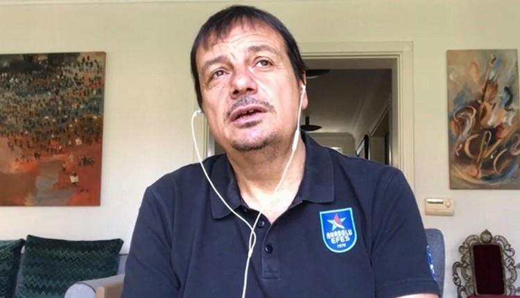 Ergin Ataman: 'Lideriz ama tescil istemiyoruz.'
