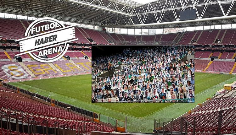 Galatasaray'dan 'karton taraftar' modeli