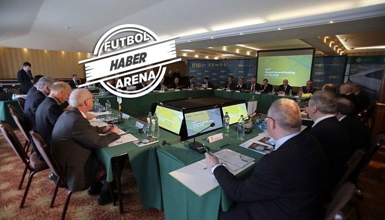IFAB'dan kritik karar! 5 oyuncu değişikliği ve VAR
