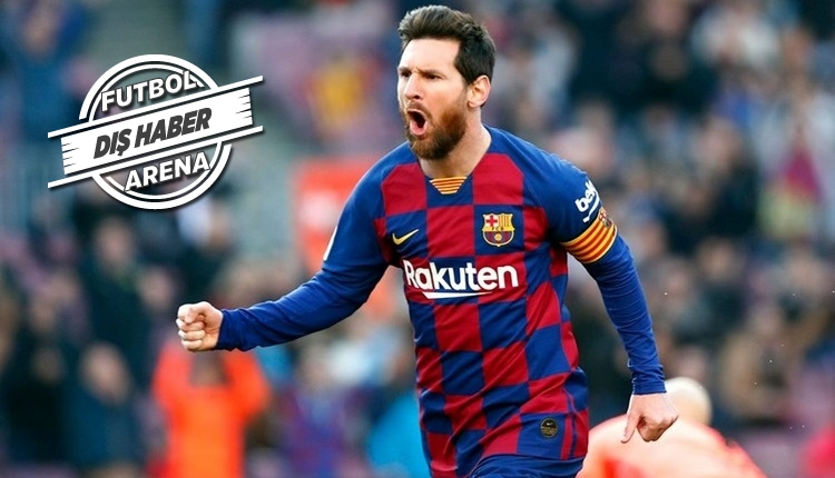 Şampiyonlar Ligi tarihinin en iyisi Messi