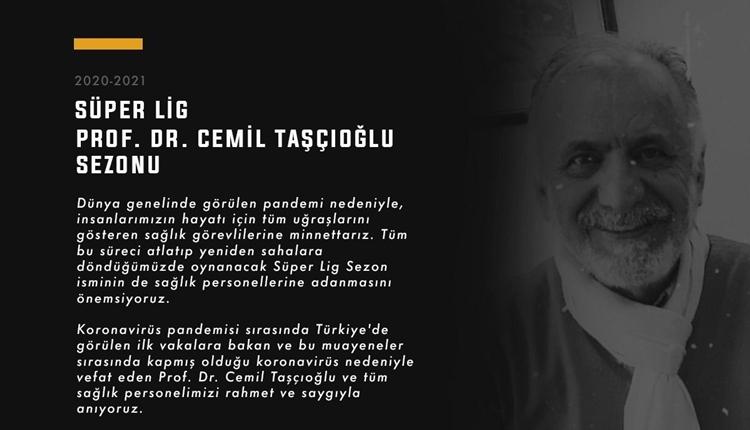 Süper Lig'in yeni sezon ismi için Cemil Taşçıoğlu önerisi