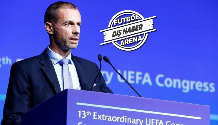 UEFA Başkanı Ceferin'den yeni açıklama: 'Ligler...
