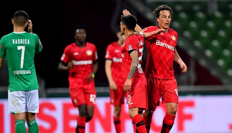 Werder Bremen 1-4 Bayer Leverkusen maç özeti ve golleri izle