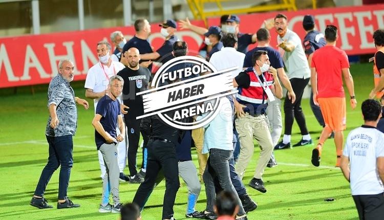 Alanyaspor - Trabzonspor maçı sonu olaylar!
