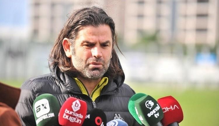 Bursaspor, İbrahim Üzülmez ile yolları ayırdığını açıkladı