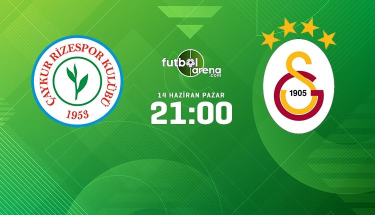 Çaykur Rizespor 2-0 Galatasaray