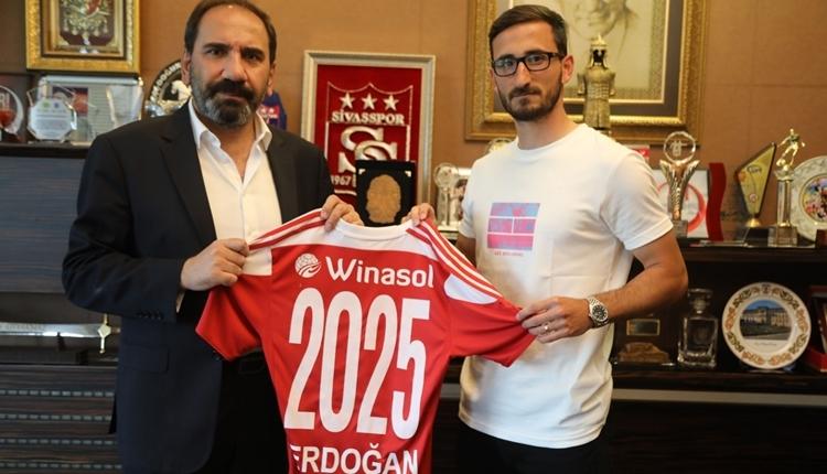 Erdoğan Yeşilyurt, Sivasspor'da kaldı! Yeni sözleşmesi açıklandı