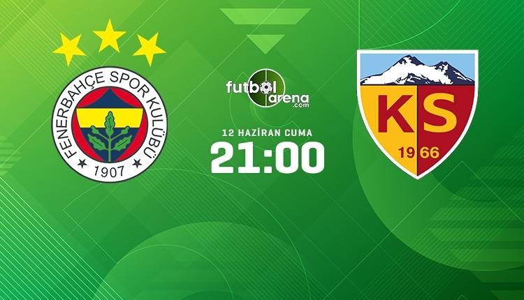 Fenerbahçe-Kayserispor canlı izle, Fenerbahçe-Kayserispor şifresiz İZLE (Fenerbahçe-Kayserispor beIN Sports canlı ve şifresiz İZLE)