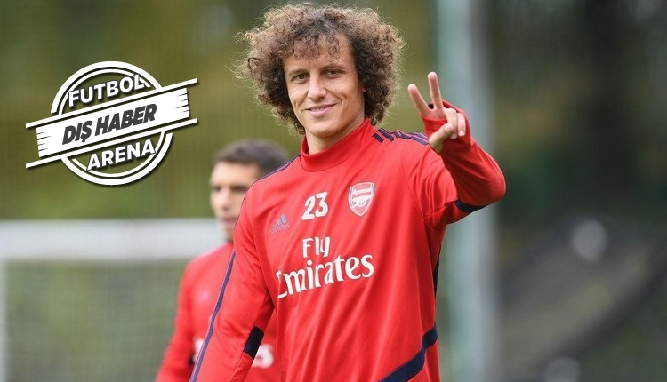Fenerbahçe'ye yazılan David Luiz imzayı attı