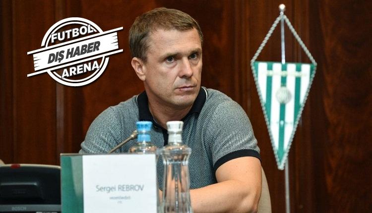 Flaş! Rebrov'un menajeri: 'Ali Koç ile görüşme oldu'