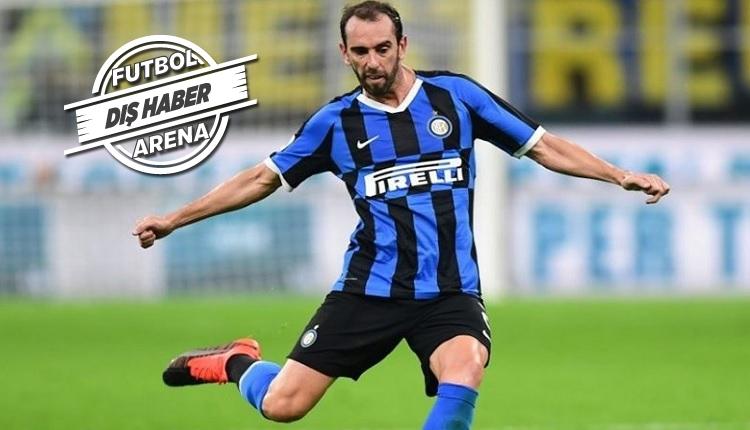 Galatasaray'da Diego Godin sürprizi! Inter'de problem