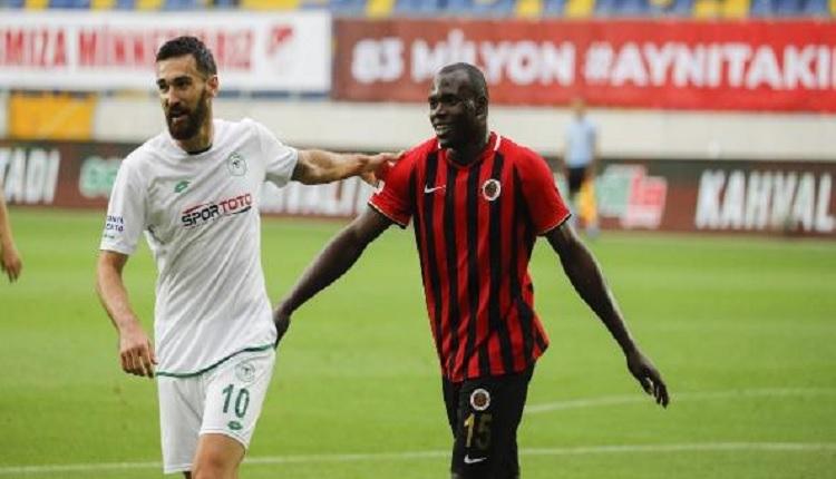 Gençlerbirliği 2-1 Konyaspor maç özeti ve golleri İZLE