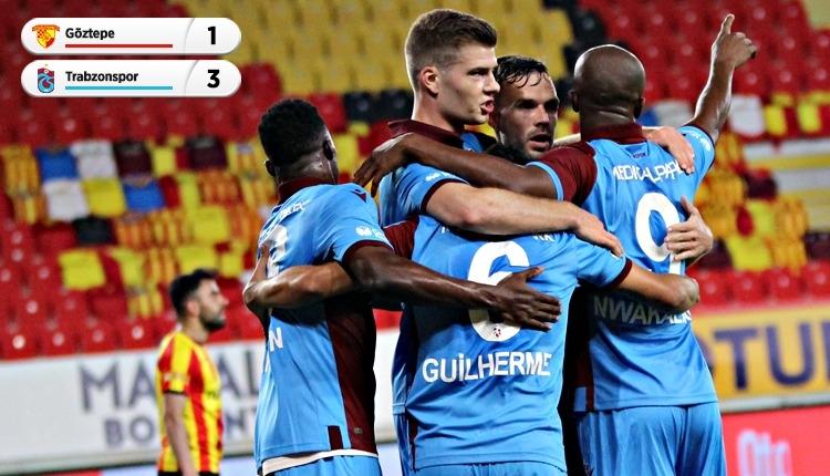 Göztepe 1-3 Trabzonspor maç özeti ve golleri (İZLE)