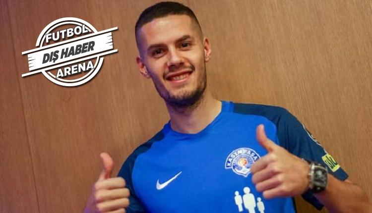 Kasımpaşalı Hajradinovic: 'Beşiktaş'ta oynamak istiyorum'
