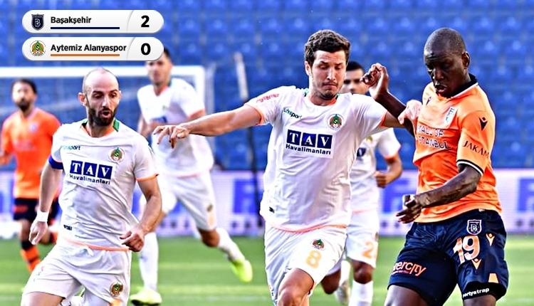 Başakşehir 2-0 Aytemiz Alanyaspor maç özeti ve golleri (İZLE)